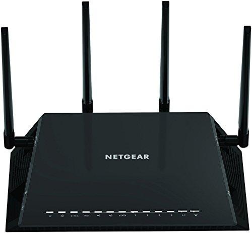 NETGEAR Certified Refurbished R7800-100NAR Nighthawk X4S - AC2600 4x4 MU-MIMO Smart WiFi Dual Band Gigabit Gaming Router by NETGEAR