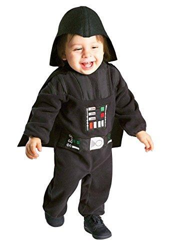 (Rubies Toddler Boys Star Wars Darth Vader Jumpsuit Costume)