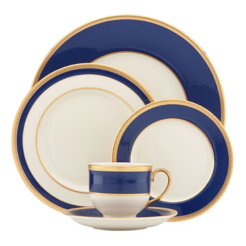 Lenox 823150 Independence 5-Piece Place Setting, Ivory ()
