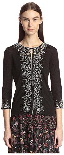 anna-sui-womens-embroidered-cardigan-black-m-l