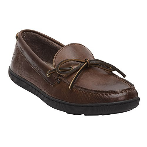 Frye Men's Hugh Tie Dark Brown Oiled Vintage Boat Shoe 10 D (M) (Shoes Tie Deck)
