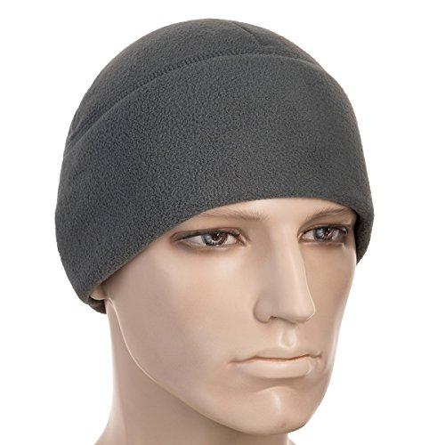 M-Tac Skull Cap Fleece 330 Winter Hat Mens Military Watch Tactical Beanie (Gray, Large) - Patrol Watch Cap