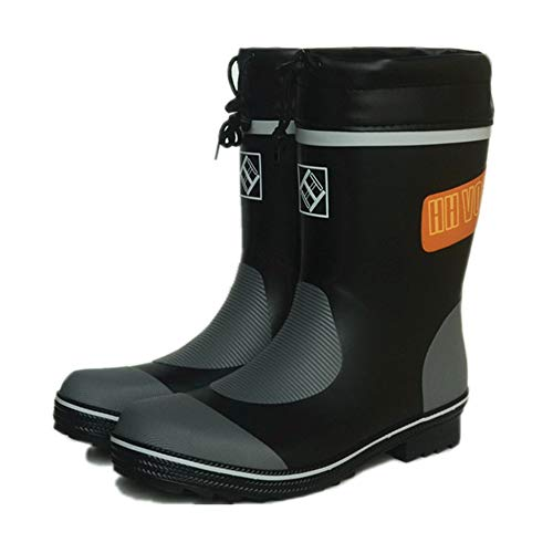 a 3 2 Stivali impermeabili EU piogge 40 impermeabili uomo tubo Hunter Dimensione resistenti da medio gomma Scarpe di Stivali Boot pioggia da pesca alle da HwBIq0gxH