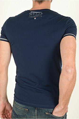 Guess Herren T-Shirt blau blau