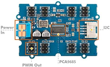 NGW-1pc Grove PCA9685 16-Channel PWM Driver