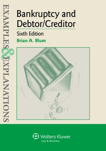 Examples & Explanations: Bankruptcy & Debtor Creditor, Sixth Edition
