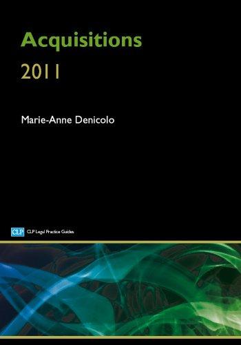 Acquisitions (CLP Legal Practice Guides) Marie-Anne Denicolo