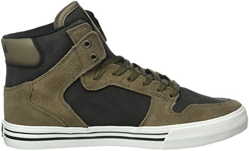 Supra Herren Vaider High-Top Braun (MOREL / BLACK - WHITE 099)