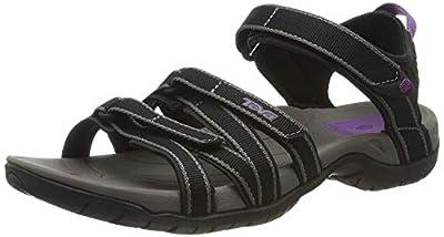 Teva Women's W Tirra Sandal (7 M US, Black/Grey)