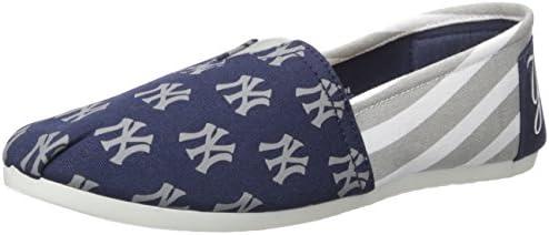 MLB Women's Canvas Stripe Shoes