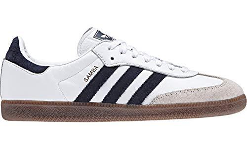 Og Trainers Blanc Adidas Samba navy White nq4fTHTwRx