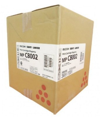 Genuine Original Ricoh Brand 841782 Magenta Toner Cartridge (842085) 29,000  Pages - for Use in: MP-C6502/6502SP/8002/8002SP