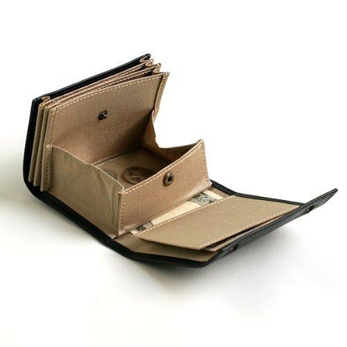 millefoglie Blackandbeige coin folded Bill ORIGINAL with case Wallet m Men's dUqP0zd4