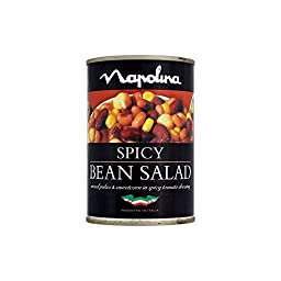 Napolina Spicy Bean Salad (400g) - Pack of 2