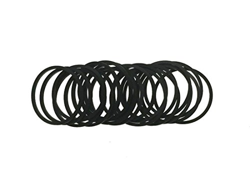 Replacement Belt for CD/DVD/BD Players/Square Belt/Two Folds Length 35mm /Width 1mm /20 Pcs Set ()