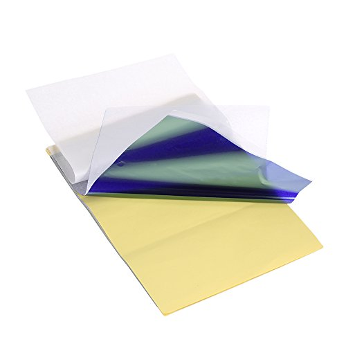 (Tattooing Transfer Paper Anself Tattoo Stencil Paper 15 Sheets Tracing Paper with 4 Layers)