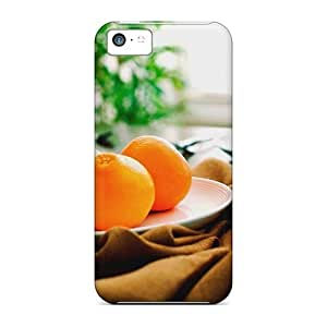 Iphone 5s for you Case Bumper Tpu Skin Cover For Oranges Plate Food Accessories