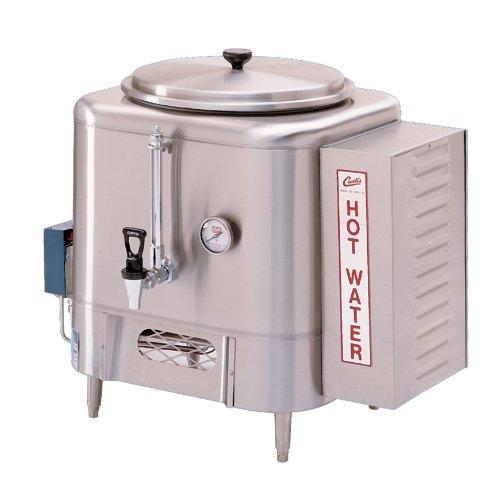 Wilbur Curtis Hot Water Dispenser 14 Gallon With Sight Glass - Commercial Hot Water Dispenser with Digital Control Module - WB-14-11 (Each) by Wilbur Curtis