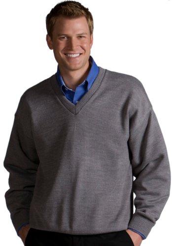 V-neck Performance Vest Sweater (Edwards V-NECK SWEATER WITH TUFF-PIL PLUS)