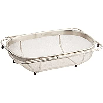 Amco Stainless Steel Over The Sink Colander