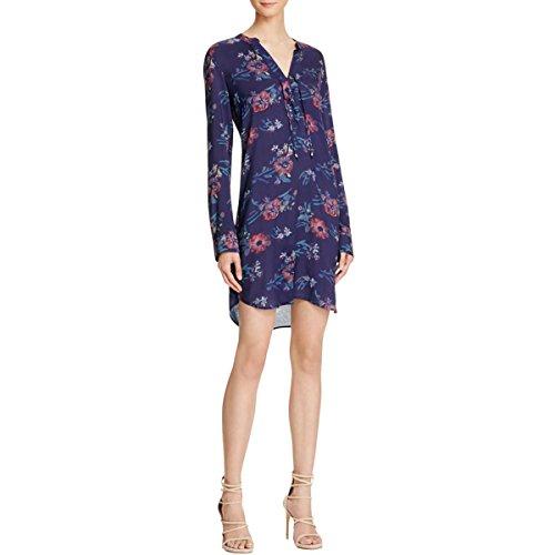 Splendid Women's Cindelle Floral Print Dress, Academy Navy, M