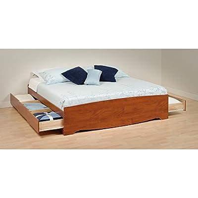 Queen 6 drawer Platform Storage Bed