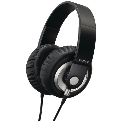 SONY Stereo Headphones MDR-XB500 BLACK | Extra Bass Closed Dynamic (Japan Import)