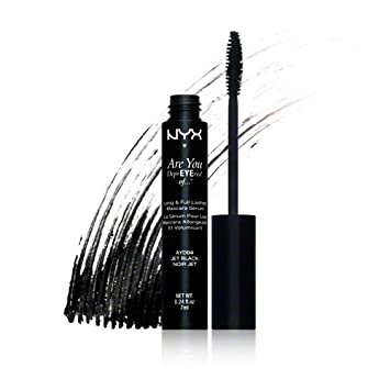 NYX Cosmetics LONG & FULL LASHES MASCARA SERUM - JET BLACK - AYD04