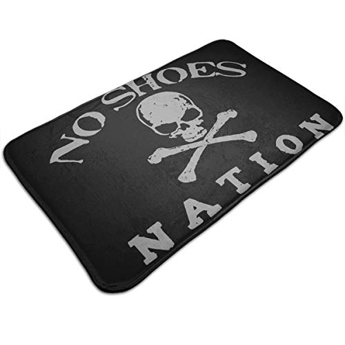 - YOHHOY Kenny Chesney No Shoes Natio Non-Slip Soft Memory Foam Bath Mat - Toilet Bath Rug with Increased Anti-Skid Bottom Bathroom Mats Perfect for Door Mat (20