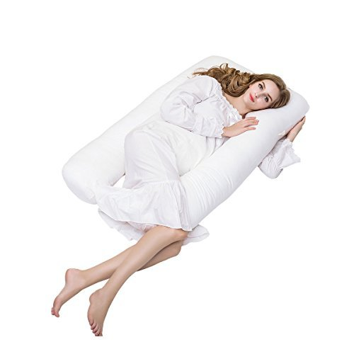 Pregnancy Pillow, iFanze U-shaped Pregnancy Cushion Total Body Support Maternity Pillows 130cm