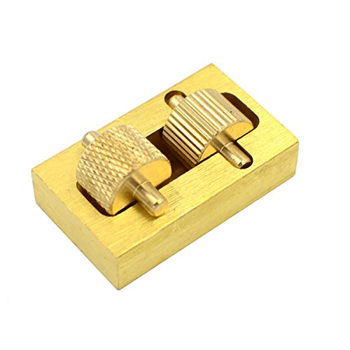 DGOL Leather Craft Brass Oil Painting Box + 2 Rollers DIY Mini Leather Edge Paint Tool