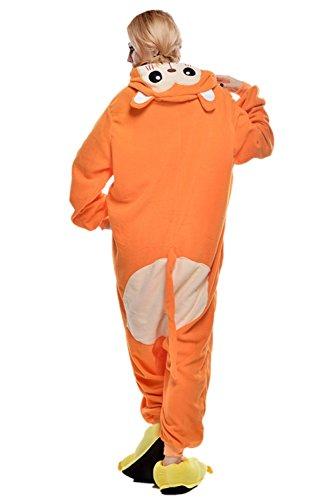 Ikerenwedding - Pijama - para mujer Orange Monkey
