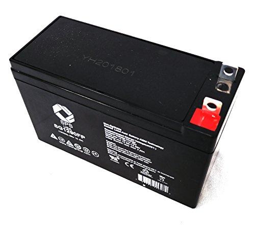 SPS Brand 12V 9Ah Terminal FP Replacement Battery for Clore Automotive JNC300XL 900 Peak-Amp Ultra-Portable with Flashlight - Amp 900 Ultra Portable Peak