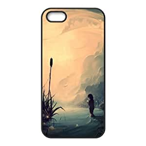 Wish pray iPhone 5,5S Case Black hjbrhga1544