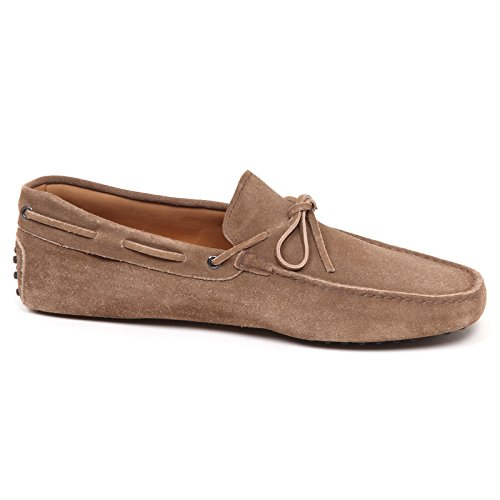 Suede Shoe Scarpe Tods Loafer Taupe E2984 Mocassino Man 11 Uomo 0wwRXgq