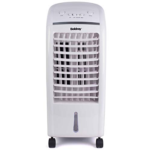 Beldray EH3056STK 6 L Purifying Portable Cooler with 3 Fan Speeds and Ioniser, Water Level Indicator & Swing Function…