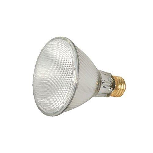 Satco 60PAR30L/HAL/XEN/NSP/120V Halogen Halogen PAR Light, 60W E26 PAR30, Clear Bulb [Pack of 6]