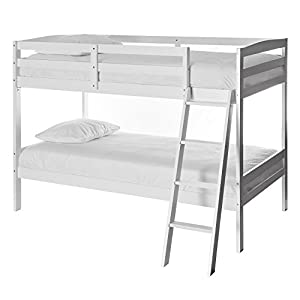 Dream On Me Taylor 2-in-1 Twin Over Twin Bunk Bed