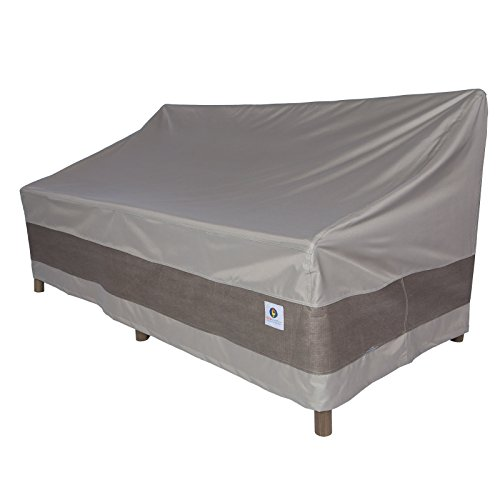 Duck Covers Elegant Patio Sofa Cover, 79-Inch (Patio Covers Breathable Furniture)