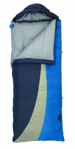 Kelty Galactic 15 Degree Hoody Down Rectangular Sleeping Bag, Regular, Outdoor Stuffs