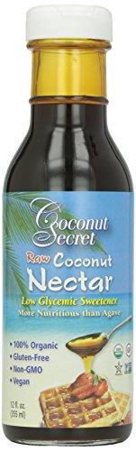 Coconut Secret Organic Raw Cocoonut Nectar, 12 oz (Nectar Sweetner)