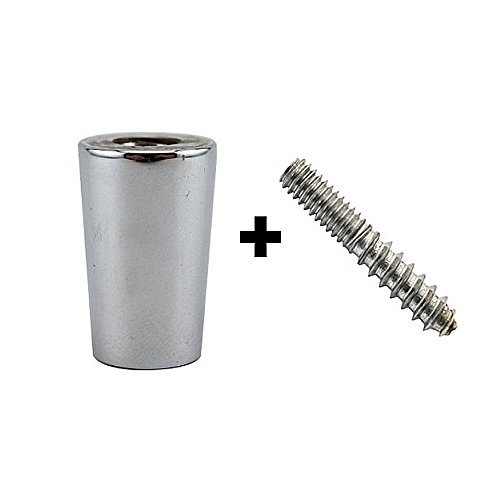 Beer Tap Handle Standard Ferrule and Hanger Bolt Set, 100 Pack ()