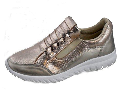 Rebelde - Jogging Goma para mujeres Oro