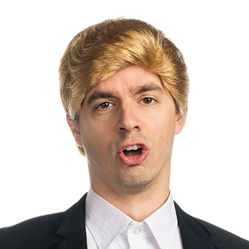 Billionaire Tycoon Donald Trump Adult Costume Wig