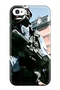 Durable Case For The Iphone 4/4s- Eco-friendly Retail Packaging(battlefield 3 Paris)