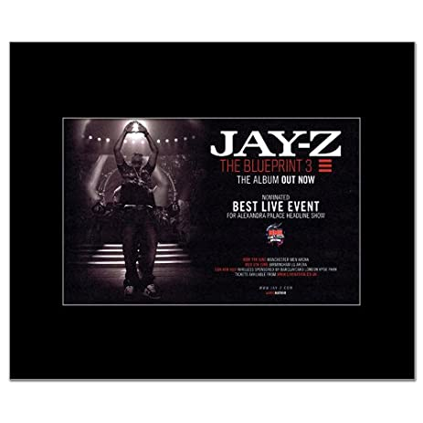 Amazon jay z blueprint 3 mini poster 21x135cm kitchen jay z blueprint 3 mini poster 21x135cm malvernweather Images