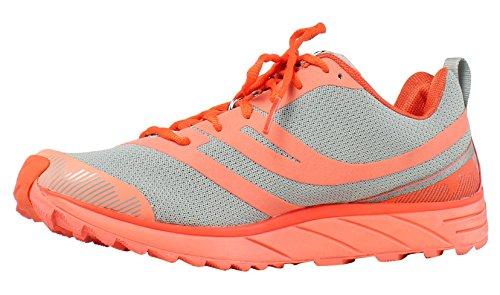 Pearl iZUMi Womens Em Trail N 2 Gray Running Shoes Size 5 (Pearl Izumi Trail Shoes)