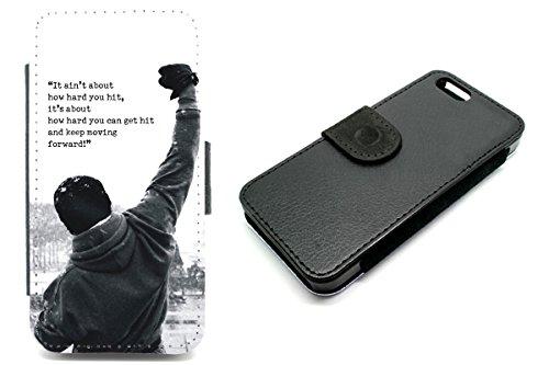 iPhone 6Wallet Rocky Balboa Film Zitat Motivation Boxen Telefon Fall