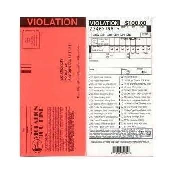 Amazon set of 10 fake parking tickets toys games set of 10 fake parking tickets altavistaventures Choice Image