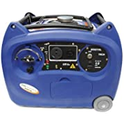 Boliy (3600SI WH) Blue 3300W Inverter Style Portable Generator with Wheel and Handle